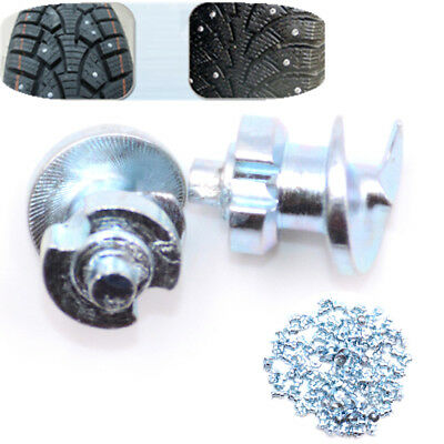 50PCS Hard Metal Tire Chain Studs Nails Tread Tips Antislip Peg Tire Accessories