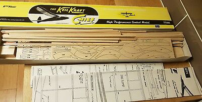 Keil Kraft Chief High Performance Glider Brand New Model Aircraft Balsa Wood Kit
