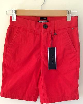 FREE POST Boys All New Tommy Hilfiger Chino Shorts Size 8