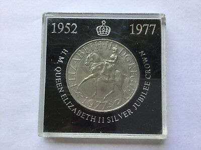 1952-1977 Queen Elizabeth 2nd Silver Jubilee Crown Coin Free Postage
