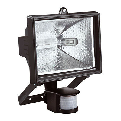 400W Kingavon Halogen Floodlight Garden Security Light With Pir Motion Sensor