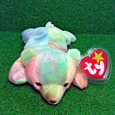1998 MWMT Ty Beanie Baby Sammy The Bear RARE Retired GASPORT Error FREE Shipping