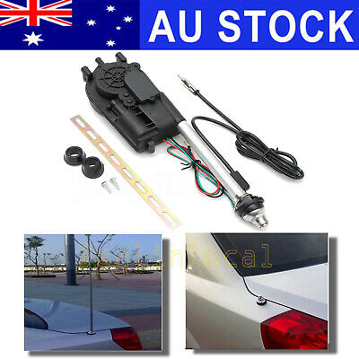 UNIVERSAL FIT CAR ELECTRIC AERIAL ANTENNA WING POWER BOOSTER 12V Waterproof AU