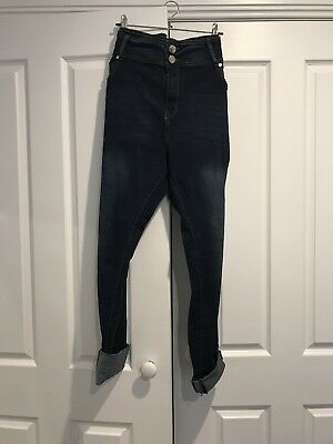 City Chic Asha High Rise Skinny Jeans Size 18R