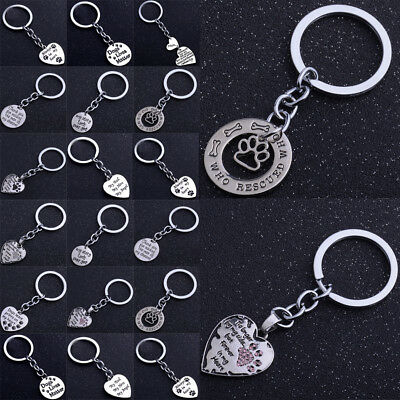 Heart Pendant Keyrings Mothers Fathers Gifts Keychains Christmas Xmas Key Chain