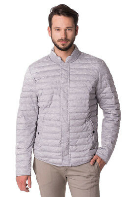 SCOTCH & SODA Size XL Men's 10034 Mélange Effect Lightly Padded Quilted Jacket