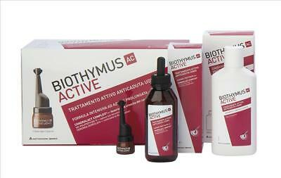 BIOTHYMUS AC ACTIVE ANTICADUTA 10 FIALE 1 MESE + SHAMPOO AC ACTIVE 180ml