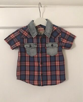Brand New Baby Boys Levi's Shirt - Size 12 Months