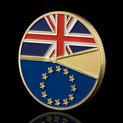 Britain Out of the European Union Commemorative Coins Pop@
