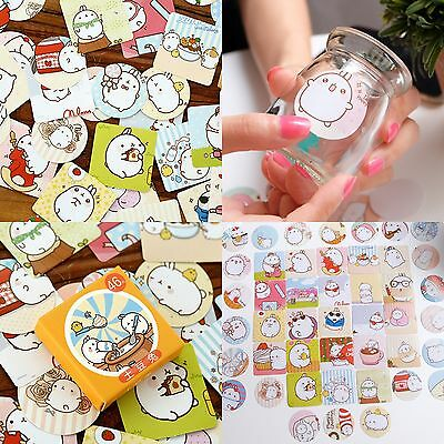 Cartoon Cute Animal Rabbit Shape Sticky Notes Sticker Marker Memo Notepad Gift@