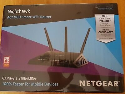 NETGEAR R7000 1300 Mbps 10/100/1000 Wireless AC Router (R7000-100UKS)
