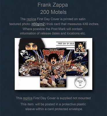 Frank Zappa 200 Motels Replica First Day Cover