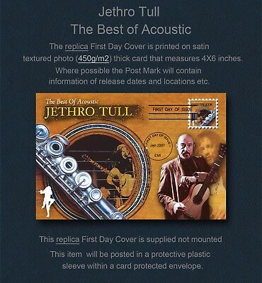 Jethro Tull Acoustic Tull Replica First Day Cover