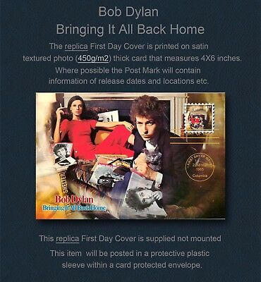 Bob Dylan Bringing It All Back Home Replica First Day Cover