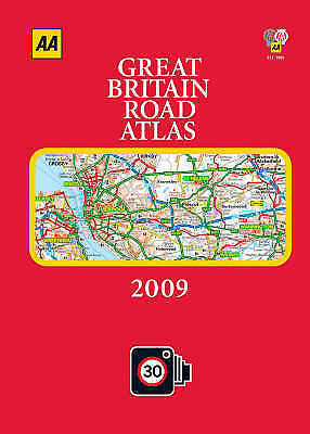 """VERY GOOD"" AA Publishing, AA Great Britain Road Atlas (AA Atlases and Maps) (AA"