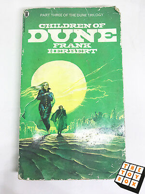 Sci-fi Novel Children of Dune Frank Herbert