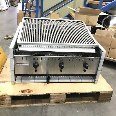 Archway 3 Burner Long Charcoal Grill - EX-DISPLAY - BRAND NEW - NG/LPG