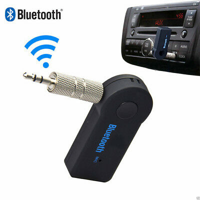 New 3.5mm Wireless USB Bluetooth Aux Stereo Audio Music Car Adapter Receiver