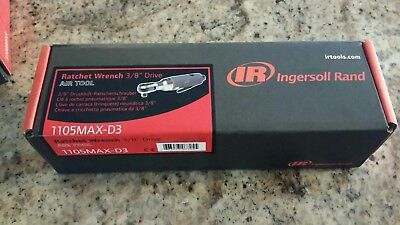 """New Ingersoll-Rand 1105MAX-D3 3/8"""" MAX-Duty Air Ratchet Ships Free!!!"""
