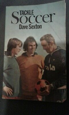 rare dave sexton manchester united 1977 book tackle soccer
