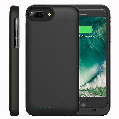 Battery Case Cover For iPhone 7 8 Plus 4000mAh Portable Wireless Charging Backup