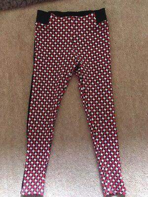 Girls Leggings M&S 6-7 Years Excellent Condition