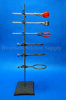 600mm Laboratory Stands,Support & Lab Clamp,Flask Condenser Clamp My-Glassware