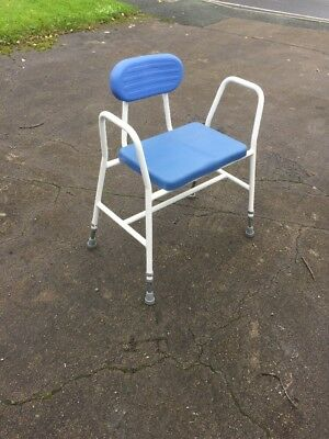 Danish Shower Stool Chair Mobility Disabled Seat Bath Bathroom Washing Aid