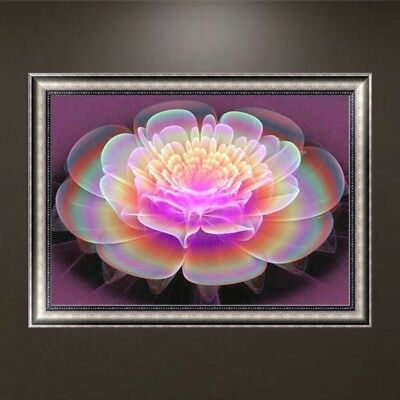 DIY 5D Diamond Embroidery Flower Painting Mosaic Cross Stitch Craft Home Decor