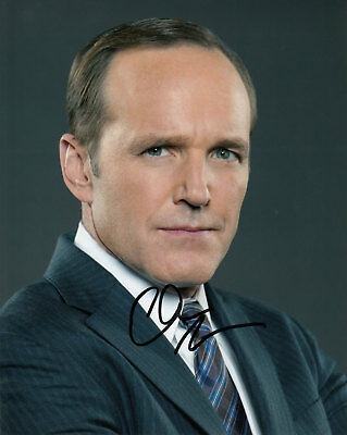 Clark Gregg Agents Of Shield Authentic Signed 10X8 Photo Aftal & Uacc [14619]