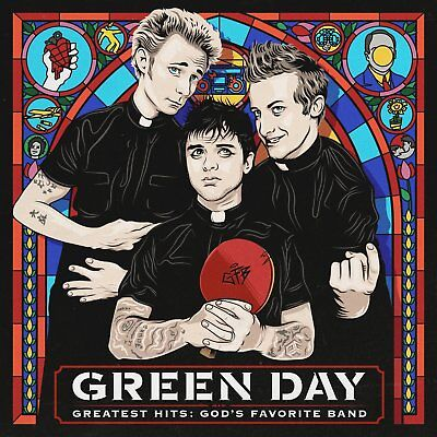 Green Day Greatest Hits: God's Favorite Band Cd 2017