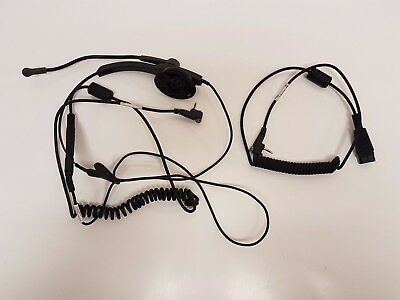 Zebra MC3100 / MC3200 headset quick disconnect adapter cable: 25-124411-01R