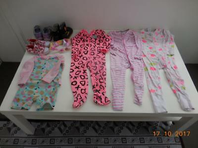 BABY CLOTHES BULK Girls size 2 USED 8 items Bonds Target Summer Autumn RRP $200