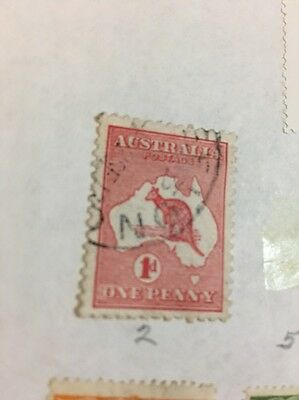 Rare  Kangaroo Stamp  Dates Between 1913-1930