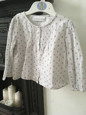 White Company Blouse 12-18 Months