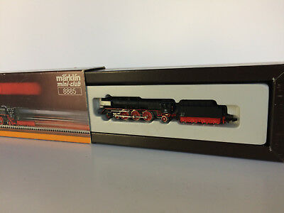 Marklin Mini Club Z 8885 locomotive vapeur + tender