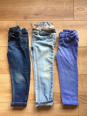 Bundle Girls Skinny Jeans Jeggings Age 3 4 Years Next M&S