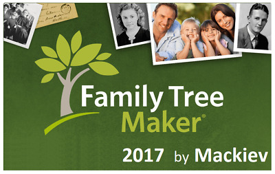 Family Tree Maker FTM 2017 by Mackiev -  Create and Discover family story