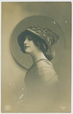 Glamour portrait postcards. Early 1900's.  K E Kiesel photo