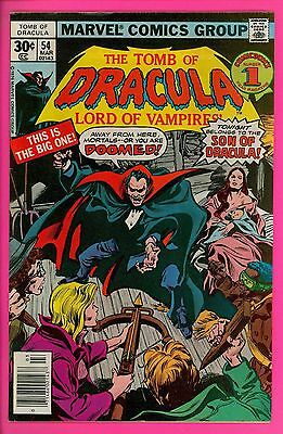 The Tomb of Dracula # 54 8.0 VF very fine Marvel comics