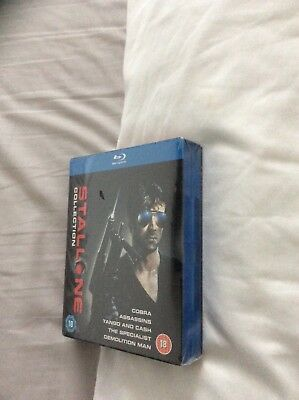 Stallone Collection New/Sealed Bluray