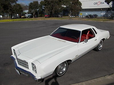 1977 Chevrolet Monte Carlo Coupe, V8 auto, LHD, good original car, import papers