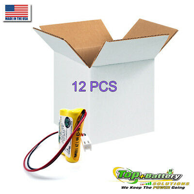 2.4v Battery For Dual-Lite AtLite Emergency Light 12-822 012-0822 12-822E Qty.12