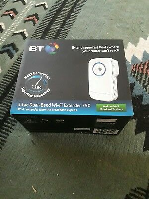 Bt wifi extender 11ac dual band 750