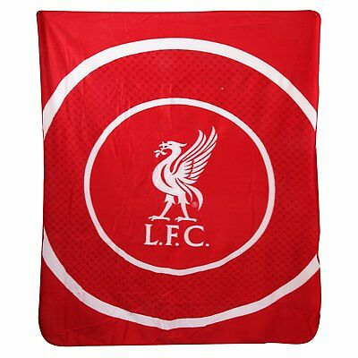 Liverpool FC Football Club Impact Red Kids Fleece Blanket Red Bedding Throw New