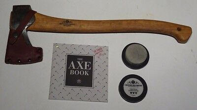 Gransfors Bruks Small Forest Axe with Sharpening Stone and Axe Book