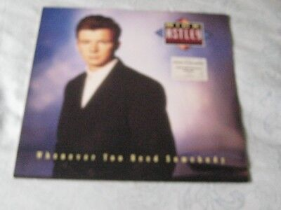 Vinyl LP, Rick Astley, Whenever You Need Somebody, 1987.