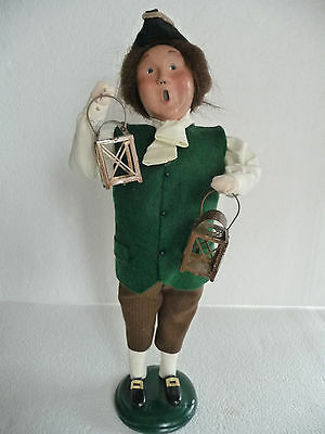 BYERS CHOICE Carolers Boston's PAUL REVERE with lanterns 2001 Great Condition!