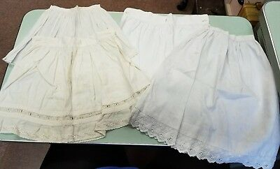 Antique Vintage Childrens Skirts - Lot of 4