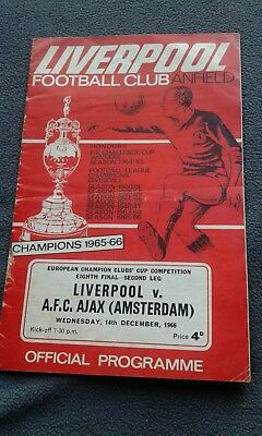 liverpool v ajax 1966/67 european cup
